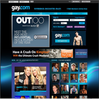 Gay.com is a gay dating site for males, females and transsexuals and boasts ...